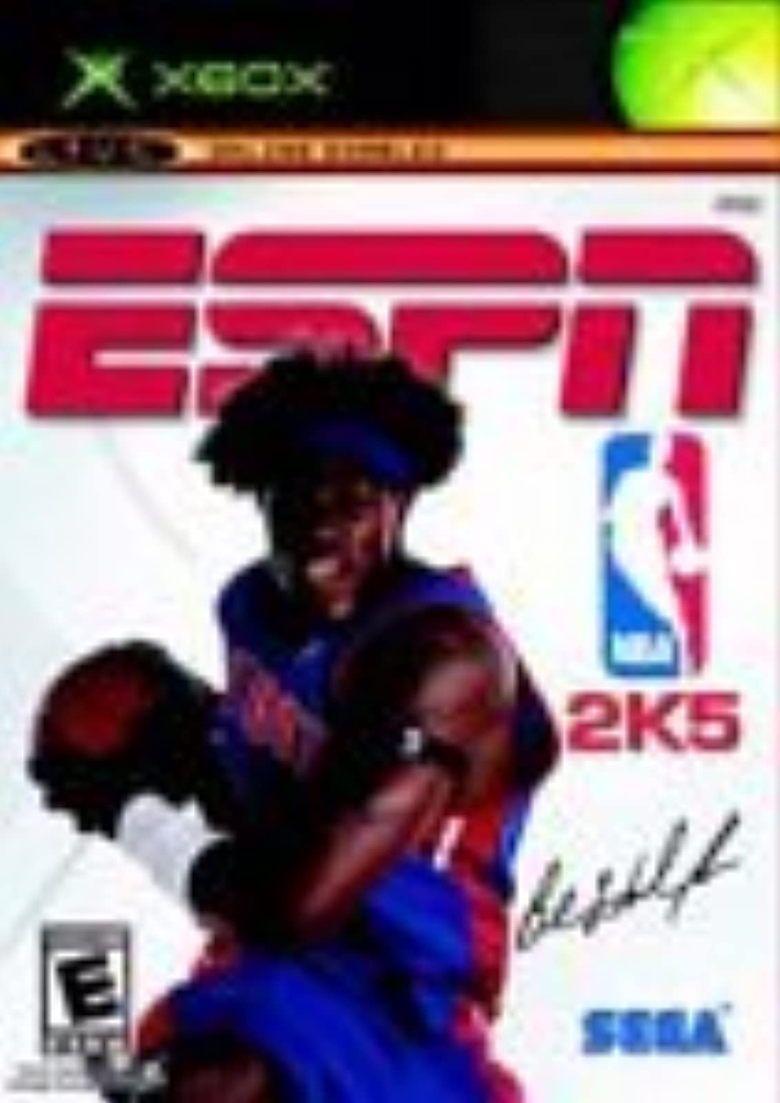 ESPN NBA 2K5 For Xbox Original Basketball
