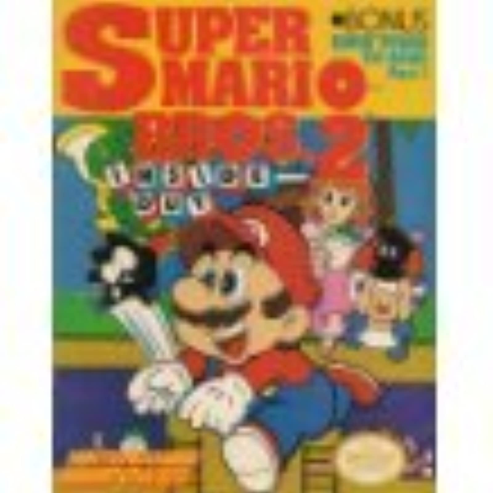 Super Mario Brothers 2 Inside Out Nintendo Power Strategy Guide
