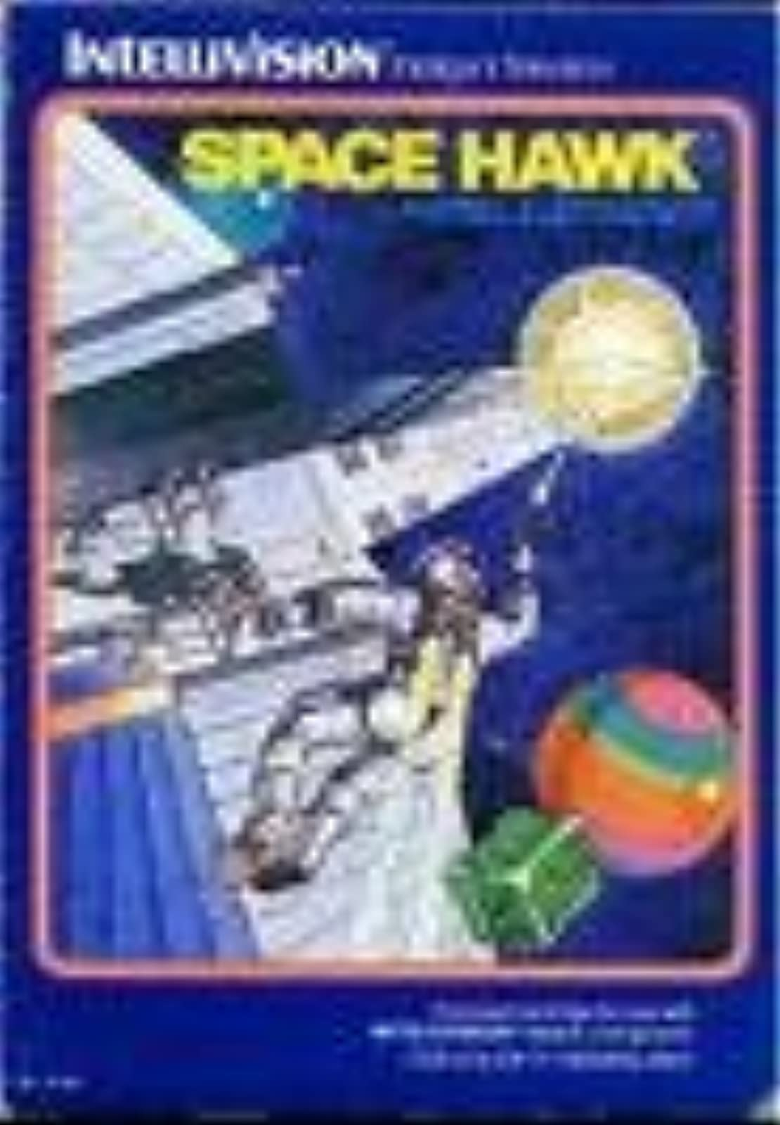 Space Hawk For Intellivision  With Manual and Case