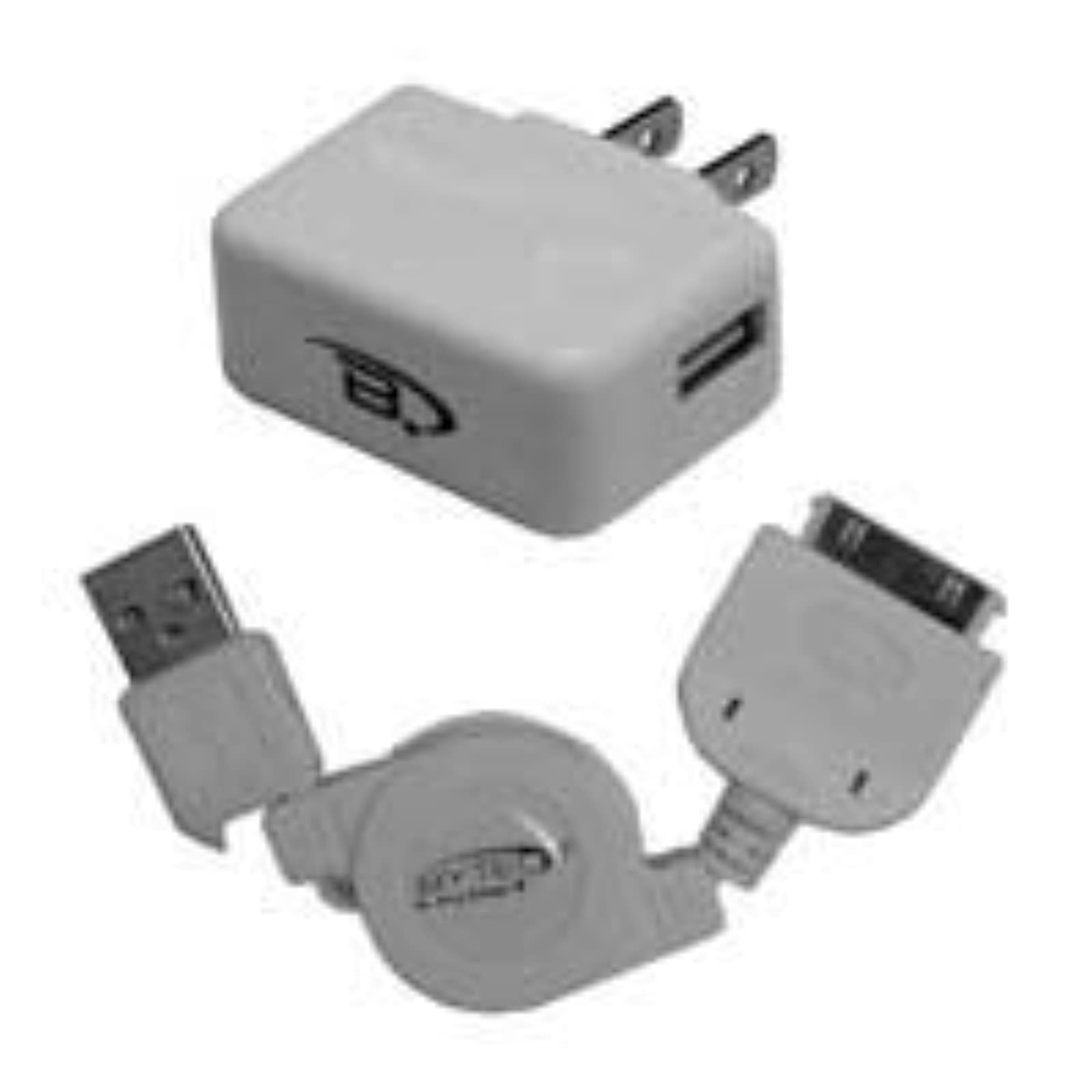 Bytech Tcusbiph Ipod/iphone USB Home Charger Kit Wall KSU483