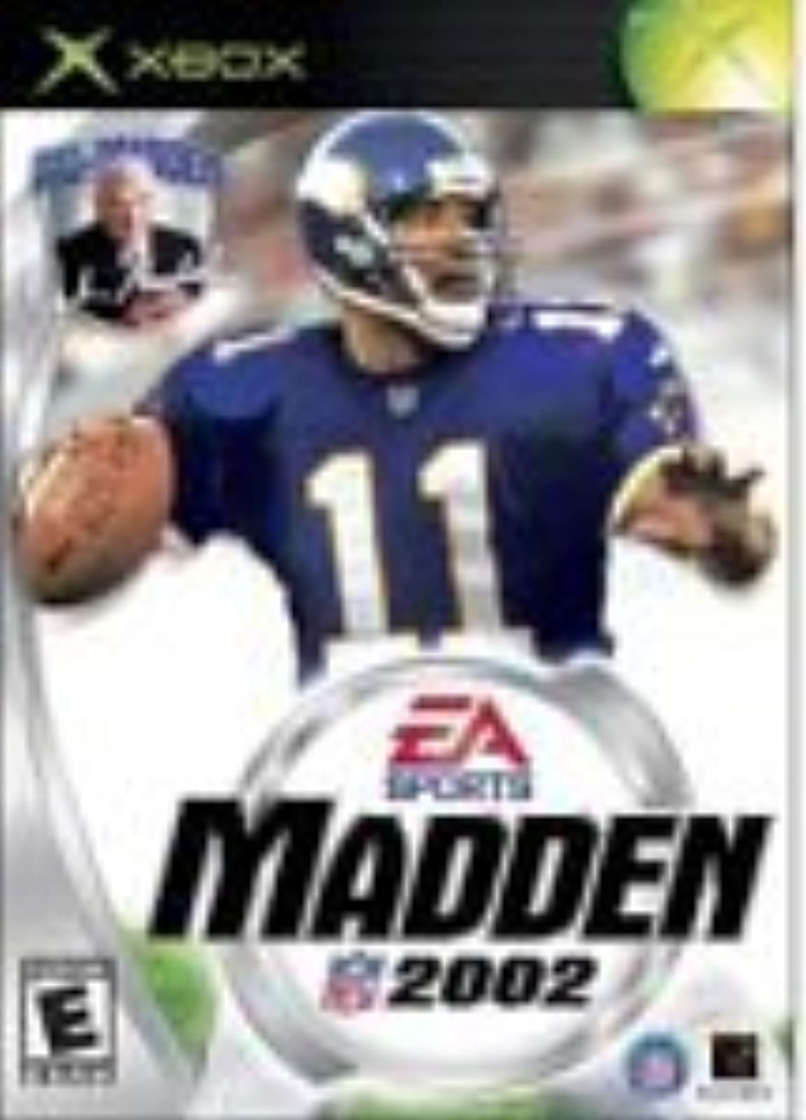 Madden 2002 For Xbox Original Football