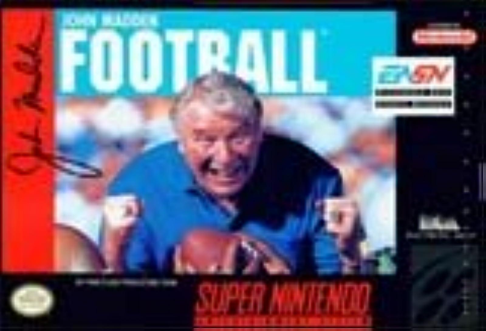 John Madden Football SNES For Super Nintendo SNES