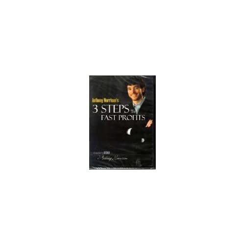 3 Steps To Fast Profits Mastery Edu By Anthony Morrison On DVD