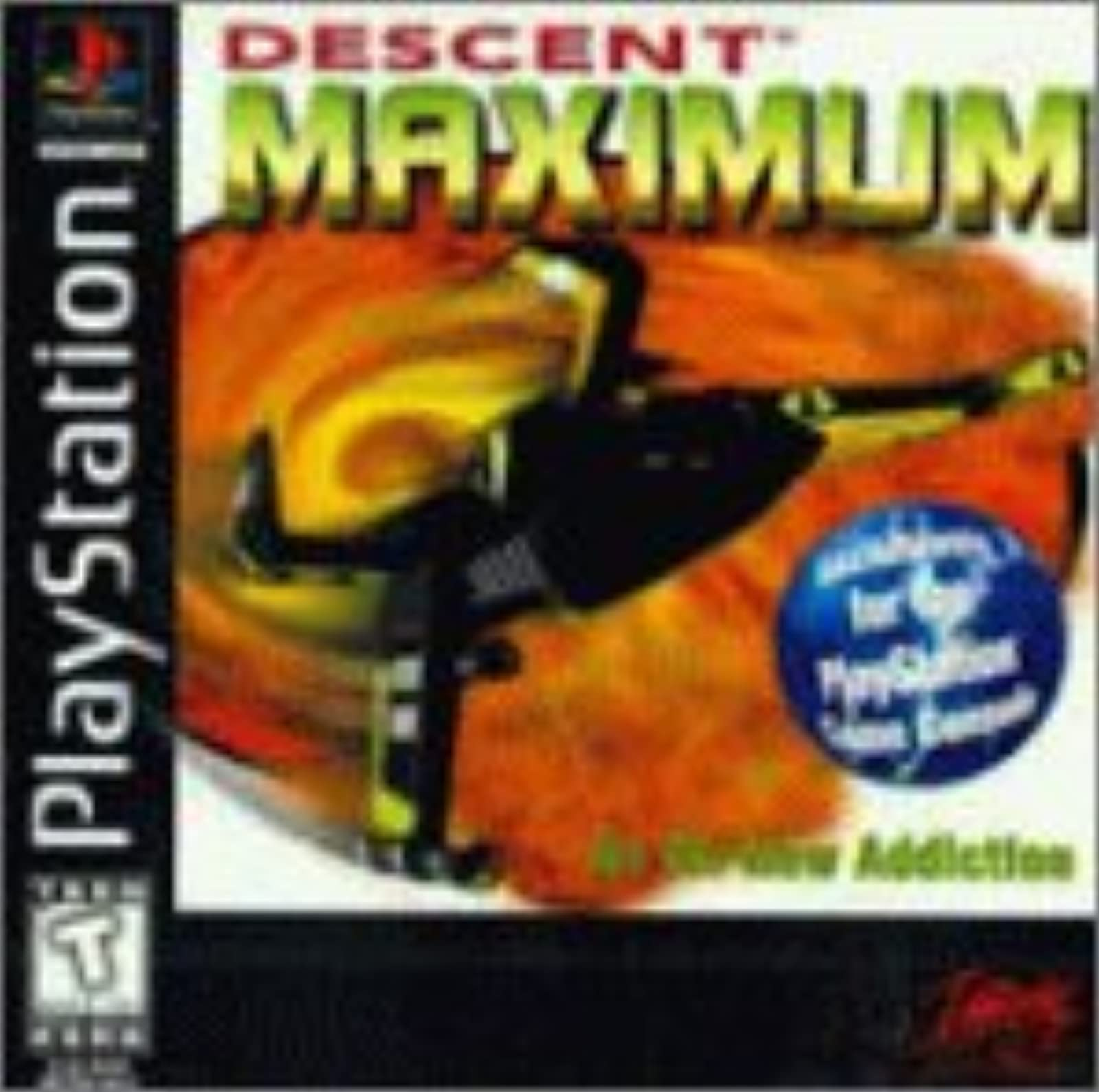 Descent: For PlayStation 1 PS1
