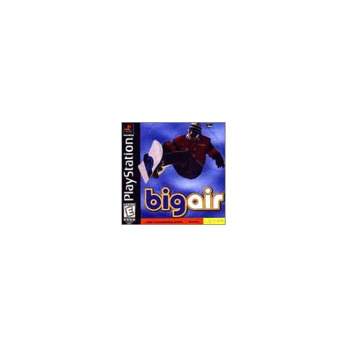 Big Air Snowboarding For PlayStation 1 PS1