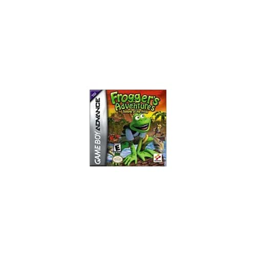 Frogger's Adventures: Temple Of The Frog For GBA Gameboy Advance