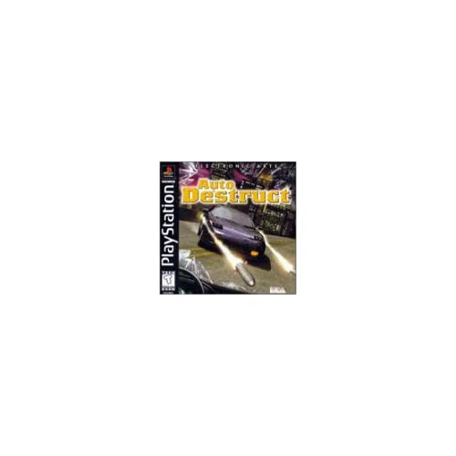 Auto Destruct For PlayStation 1 PS1 Racing