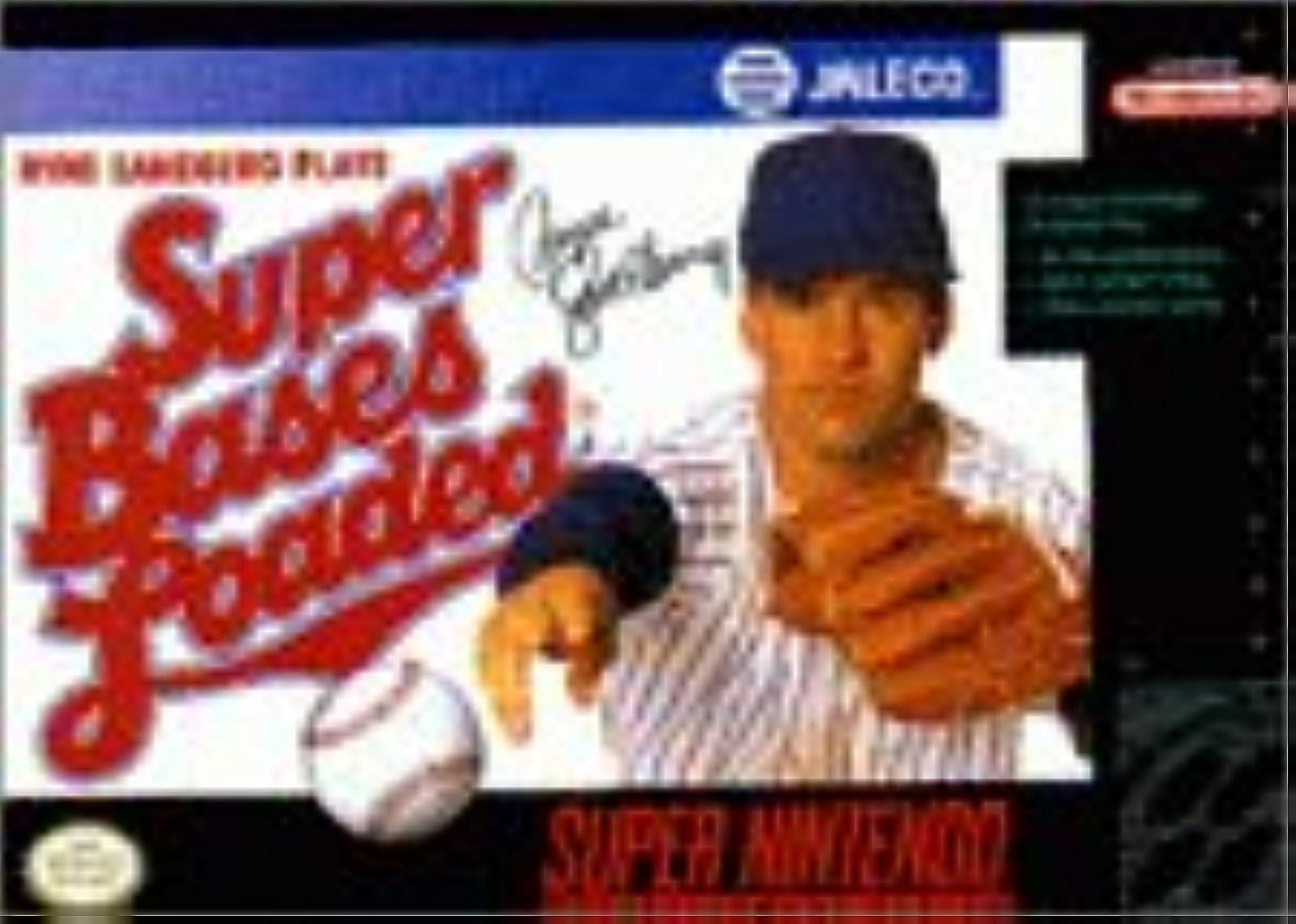 Super Bases Loaded Nintendo Super NES For Super Nintendo SNES Baseball