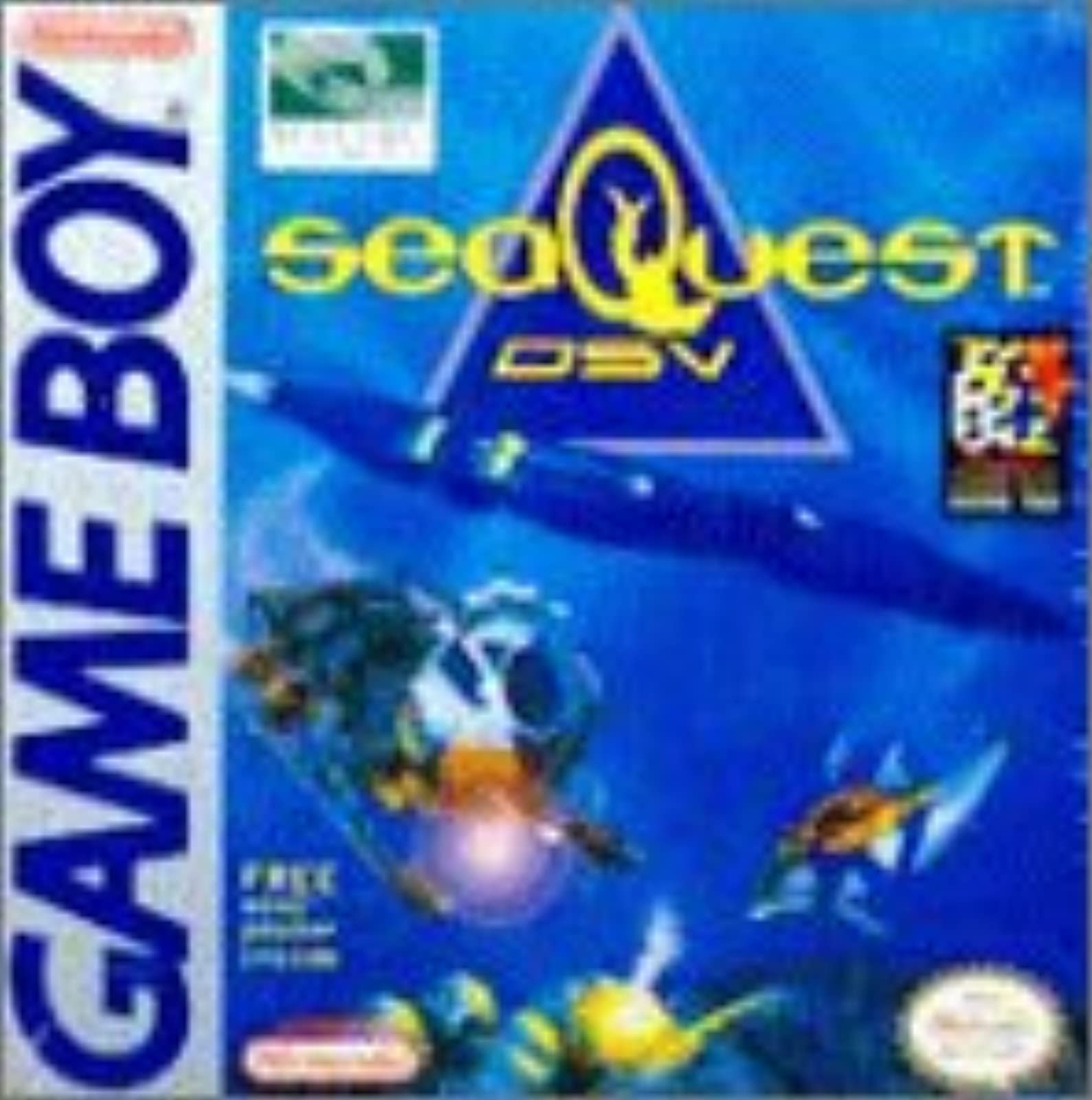 Seaquest Dsv On Gameboy