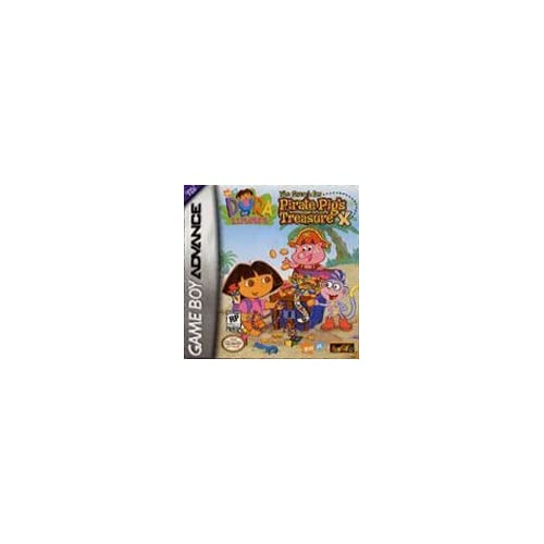 Dora The Explorer The Search For Pirate Pig's Treasure For GBA Gameboy Advance