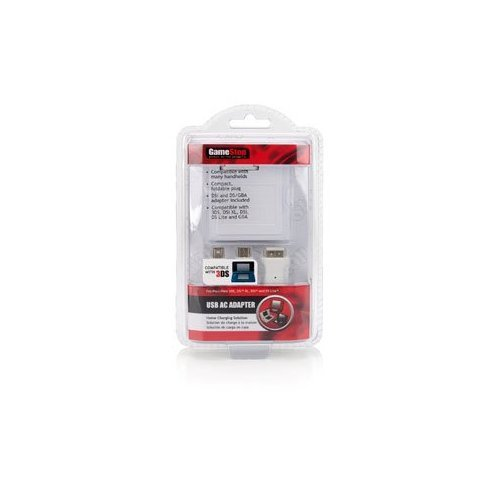 Gamestop USB AC Adapter For Nintendo 3DS DS DSi And Lite For DS Wall Power Charg