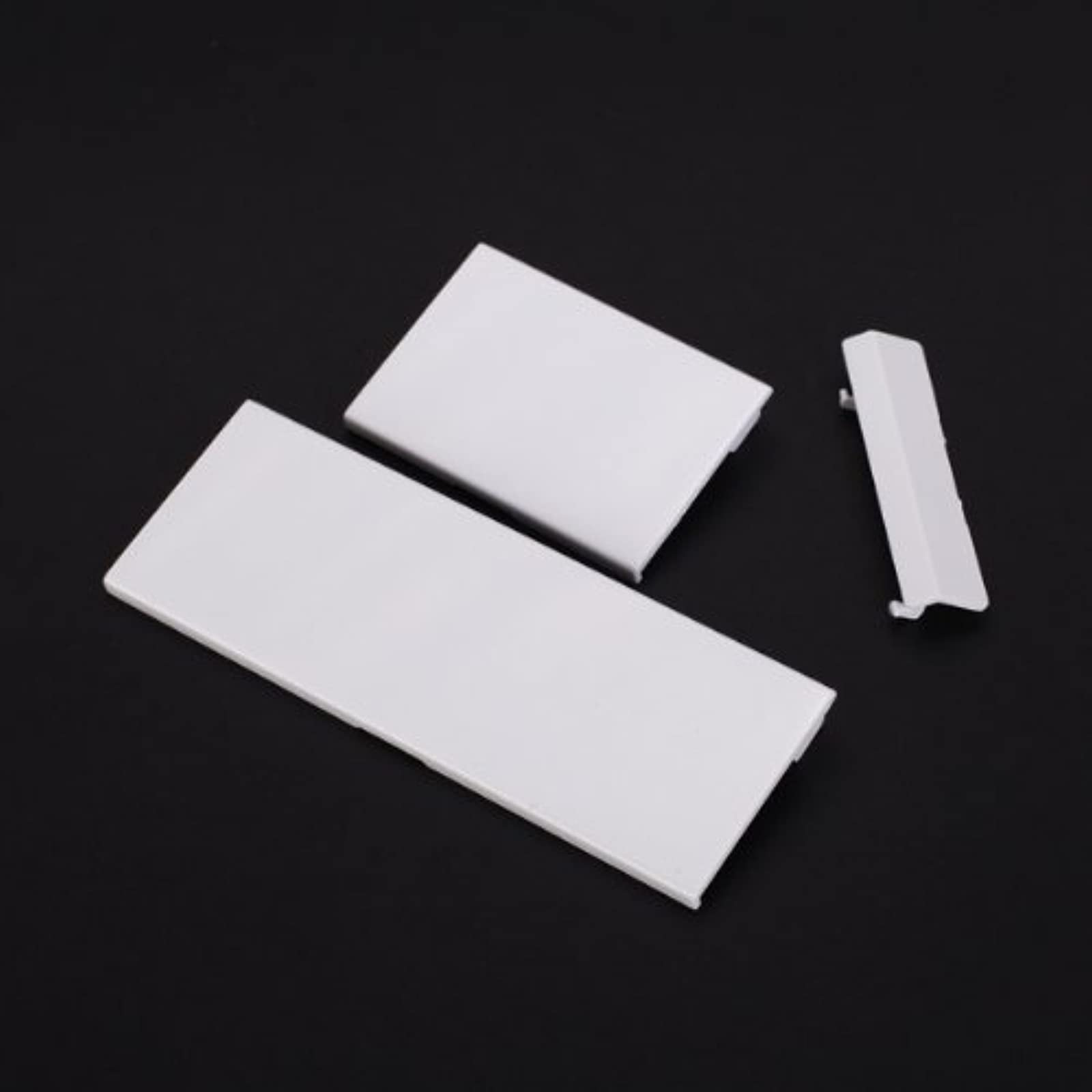 3PCS Replacement Door Slot Cover Lid For Nintendo Wii Console White