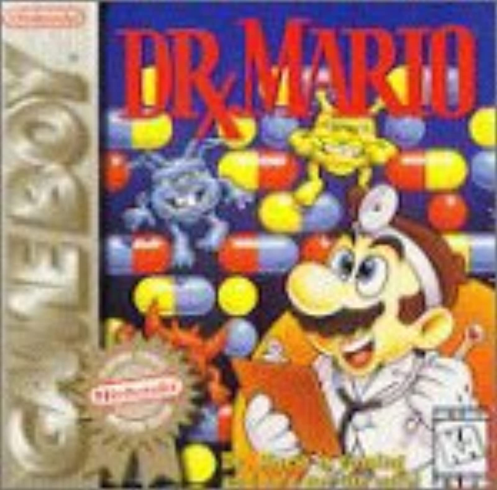 Dr Mario On Gameboy Puzzle Games