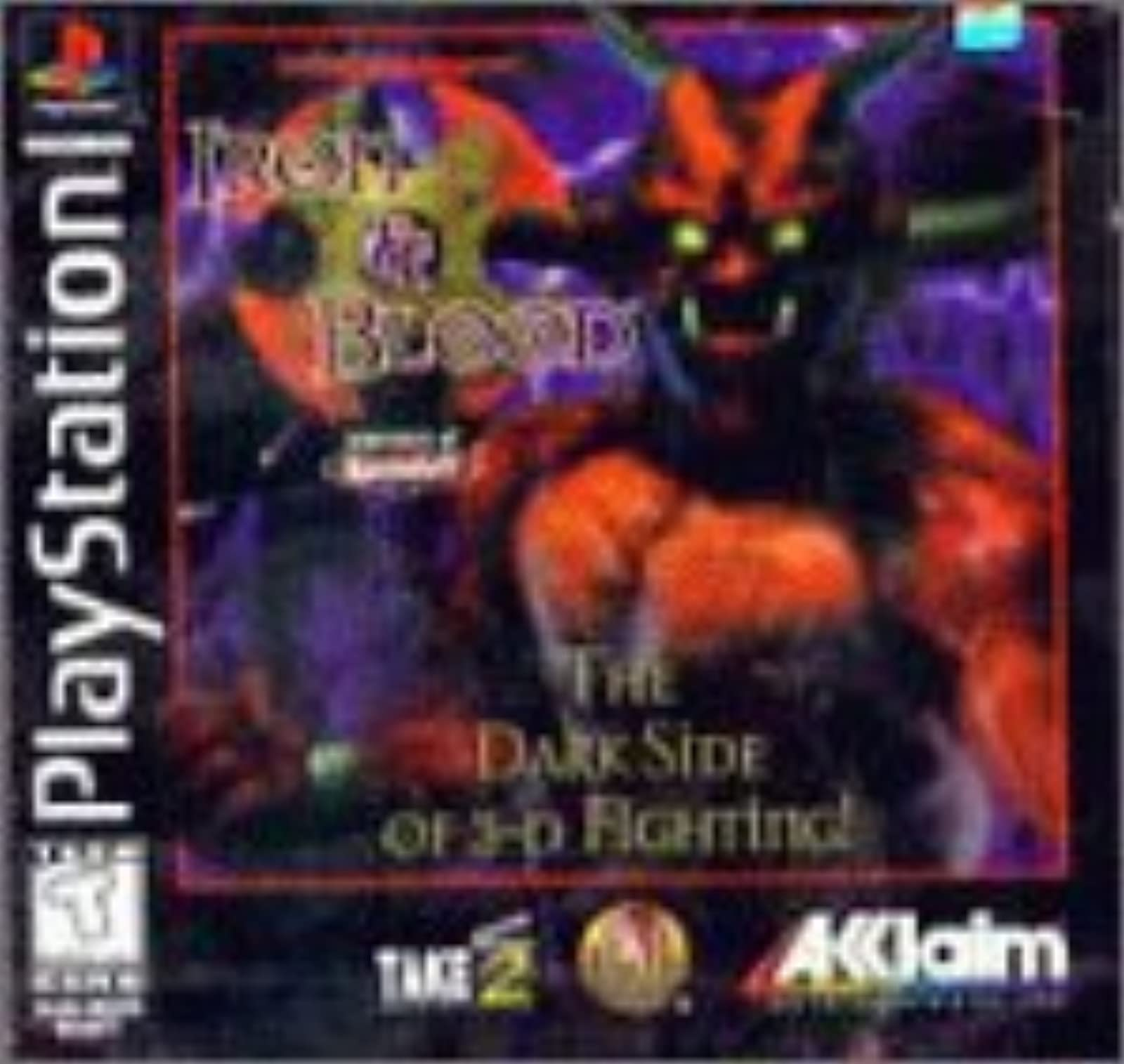 Advanced Dungeons And Dragons: Iron And Blood For PlayStation 1 PS1 Fighting