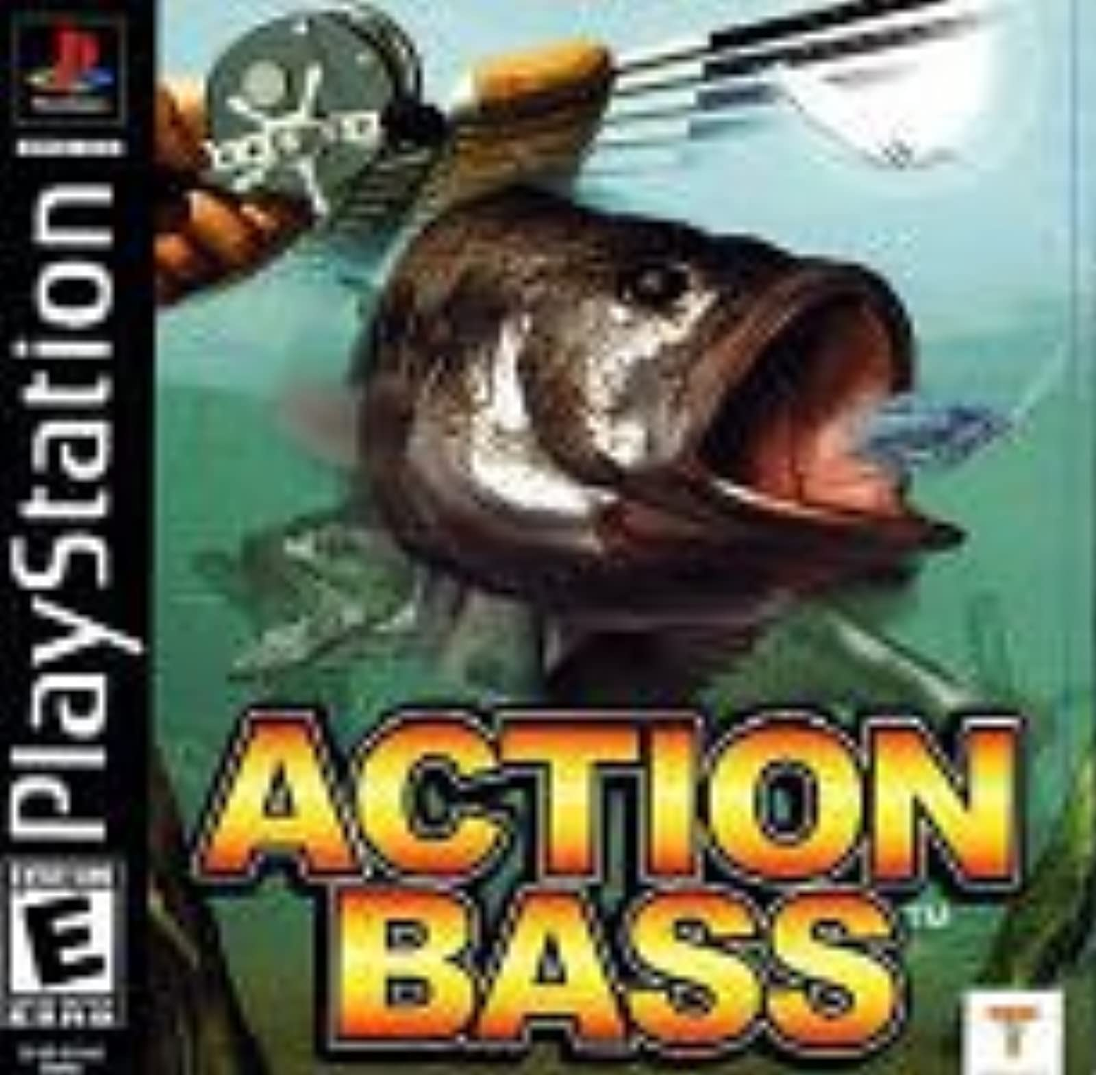 Action Bass PS1 For PlayStation 1