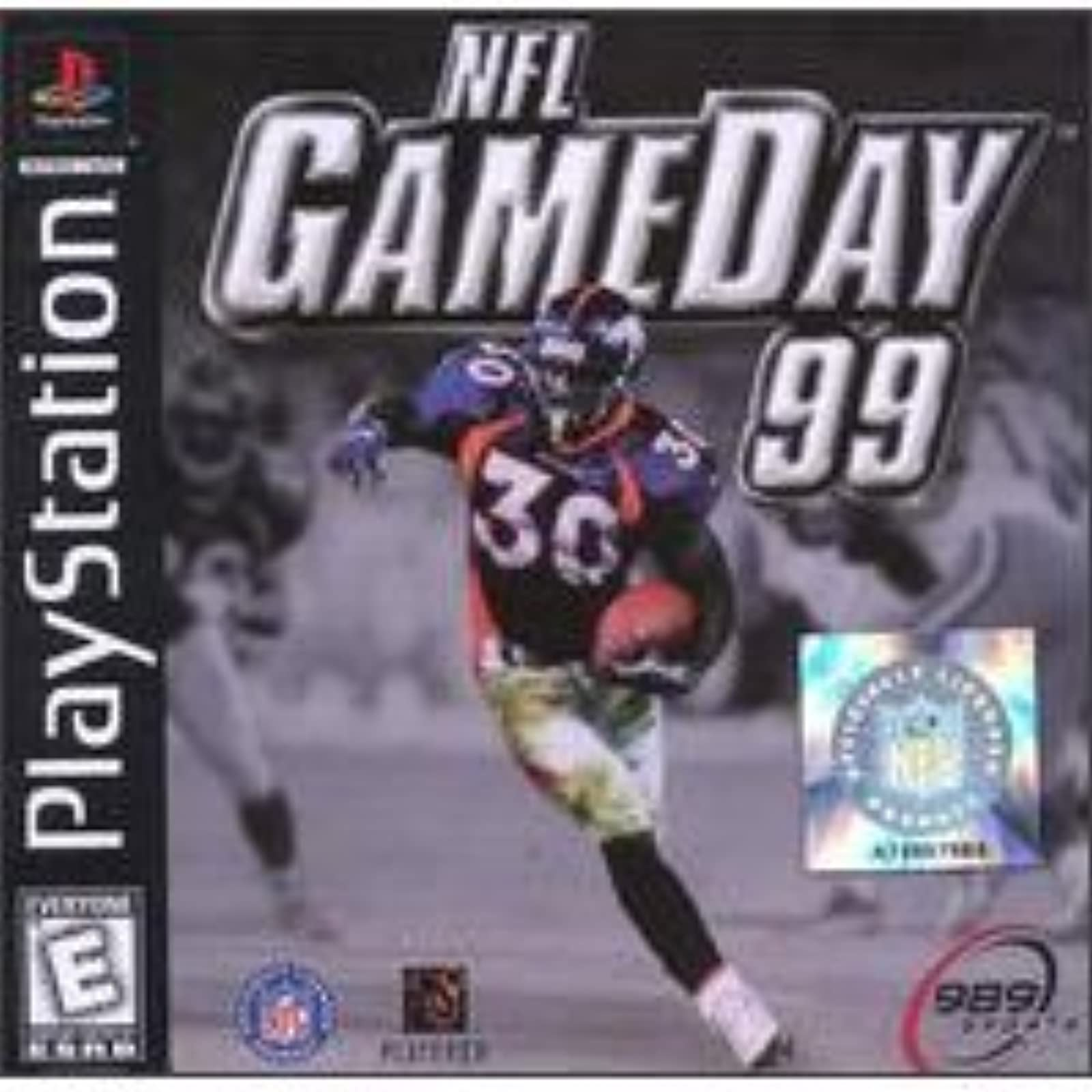 NFL Gameday 99 For PlayStation 1 PS1 Football