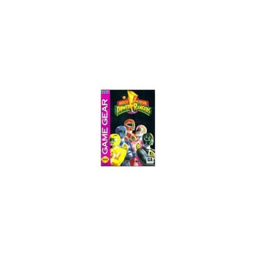 Mighty Morphin' Power Rangers For Sega Game Gear Vintage