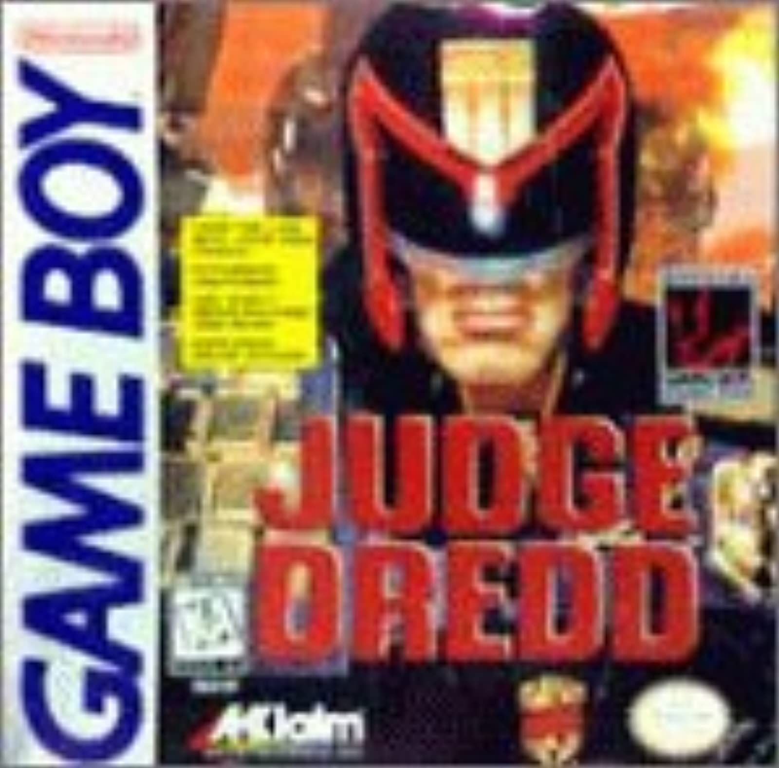 Judge Dredd On Gameboy