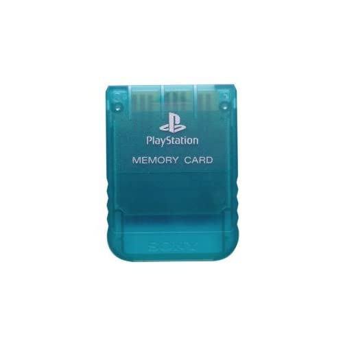 Image 0 of Sony PlayStation Memory Card Emerald For PlayStation 1 PS1 Expansion NOP595