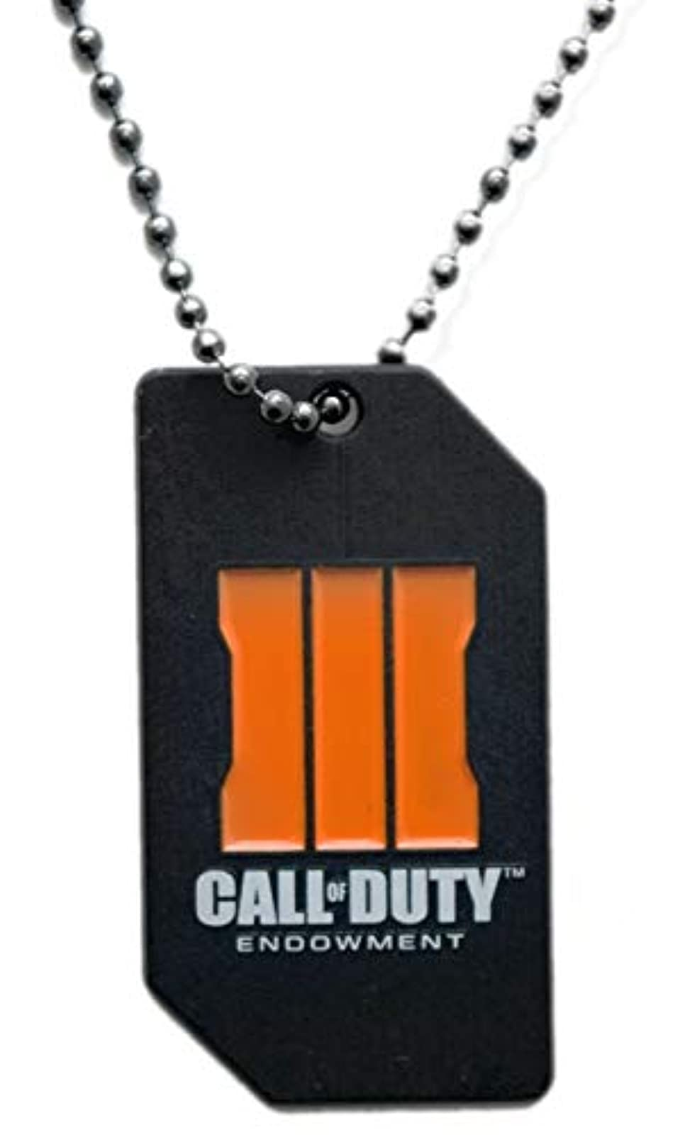Call Of Duty: Black Ops 3 Endowment Limited Edition Dog Tag COD III Pendant Neck