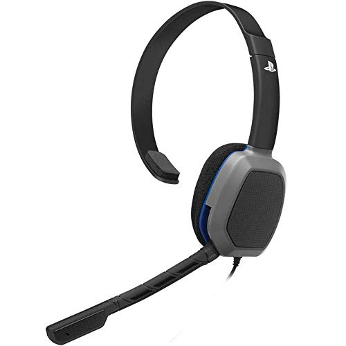 Afterglow Lvl 1 Chat Headset For PS4 For PlayStation 4 Microphone Mic Black Ear-