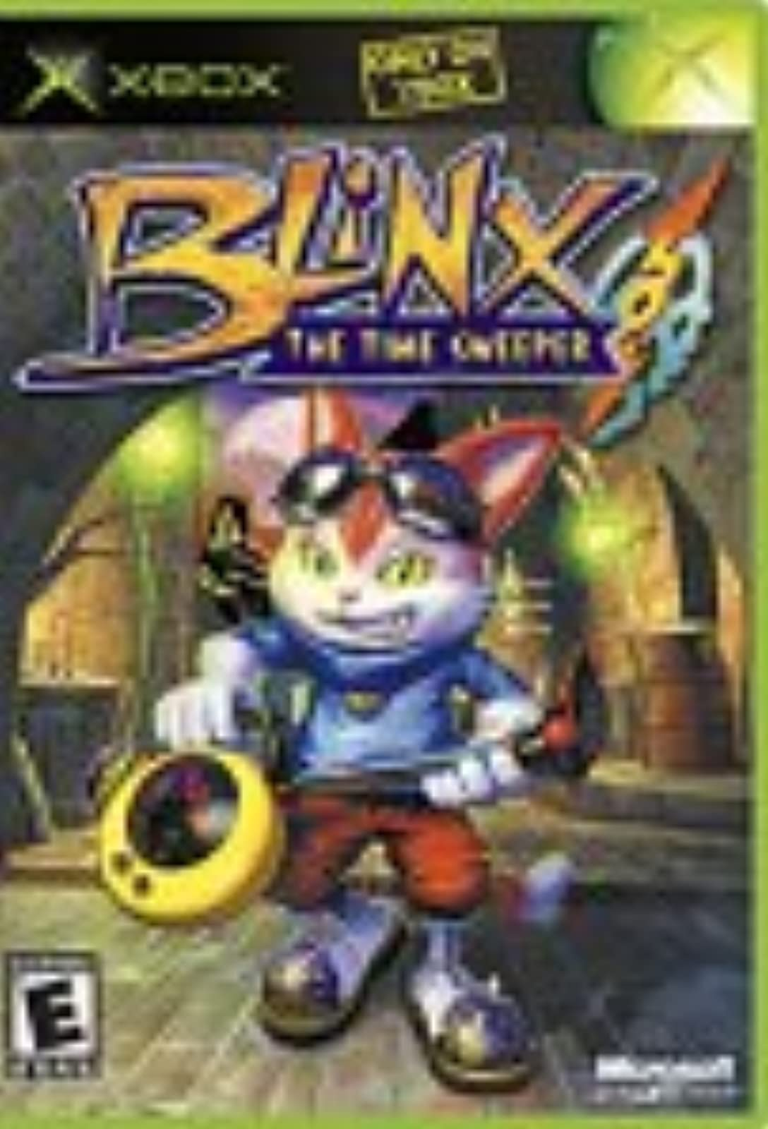 Blinx The Time Sweeper Xbox For Xbox Original