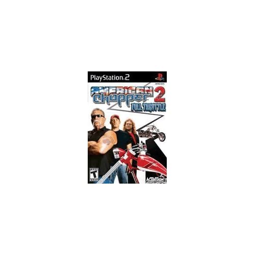 American Chopper 2: Full Throttle For PlayStation 2 PS2