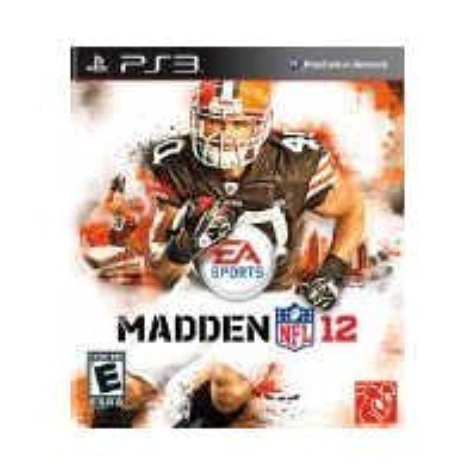 Madden NFL 12 For PlayStation 3 PS3 Football
