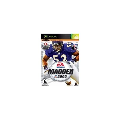 Madden NFL 2005 Xbox For Xbox Original Football