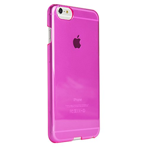 Image 2 of AGENT18 iPhone 6 Plus Clearshield Pink Translucent Case Cover Fitted