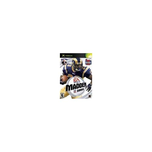Madden NFL 2003 For Xbox Original Football