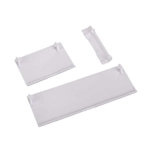 3 Replacement Door Slot Cover Lid For Wii Console White