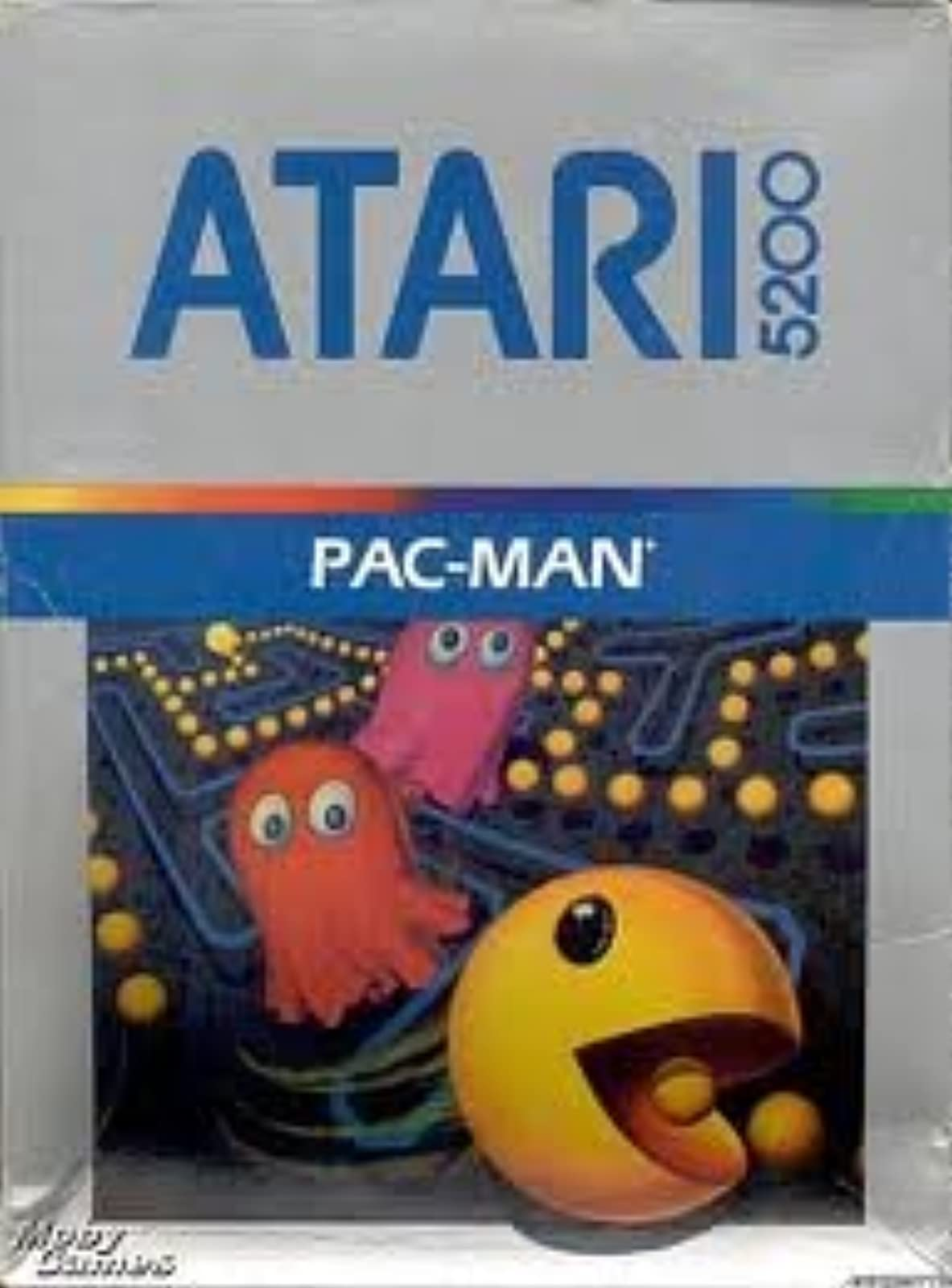 Pac-Man For Atari Vintage Arcade