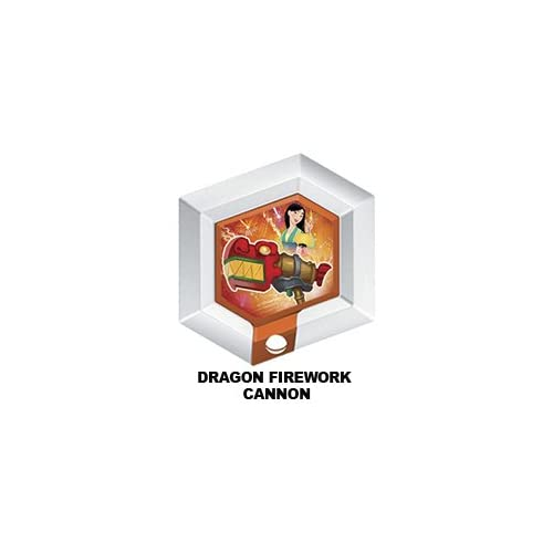 Disney Infinity Series 3 Power Disc Dragon Firework Cannon From Mulan