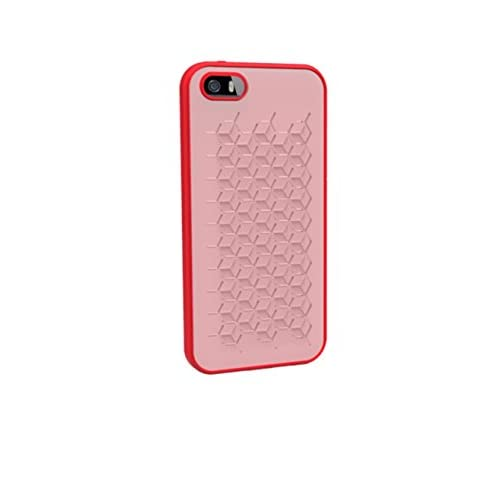 WoW Protective Silicone Case Cover For iPhone 5 5S SE Red Fitted