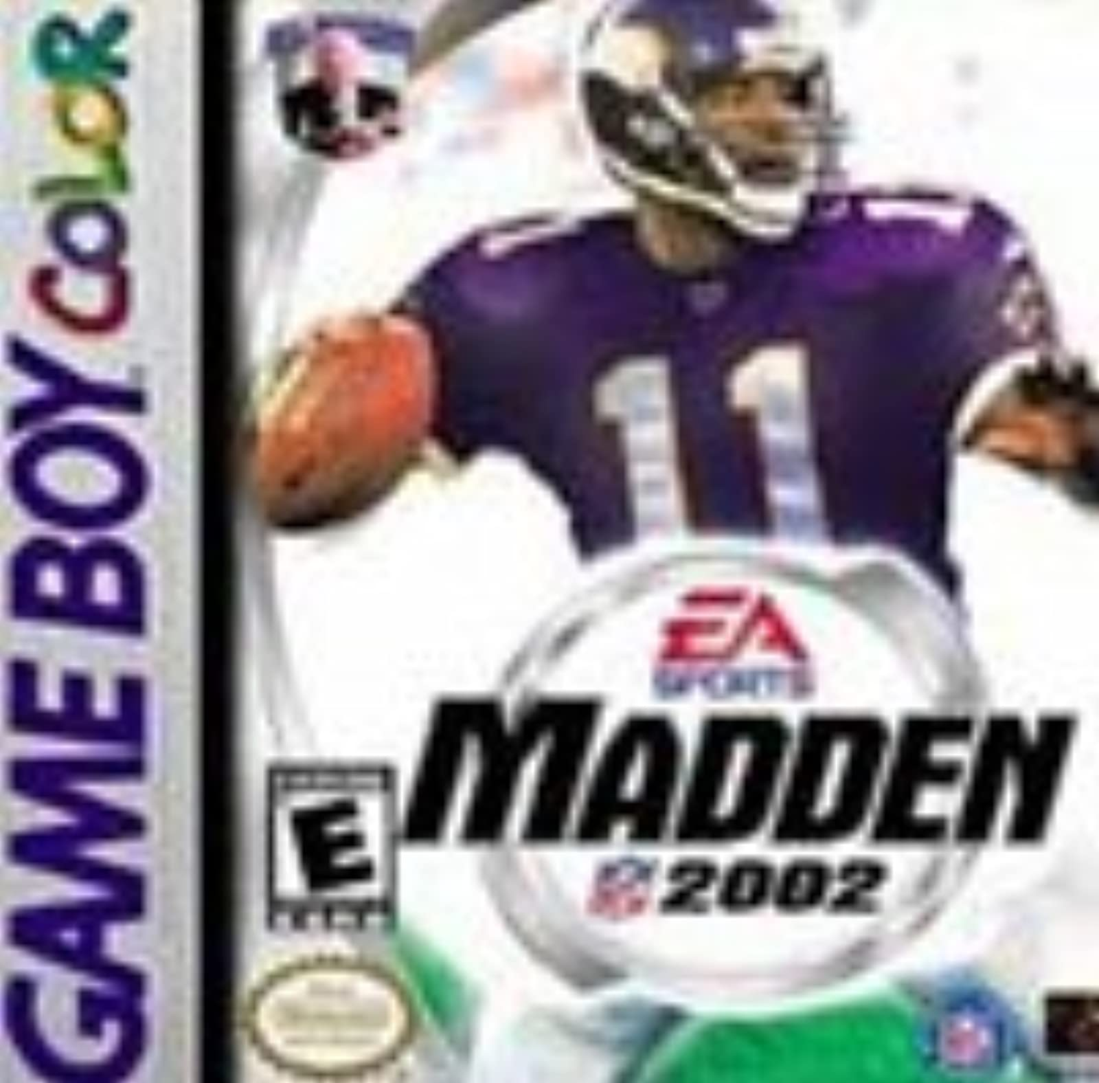 Madden NFL 2002 On Gameboy Color Football