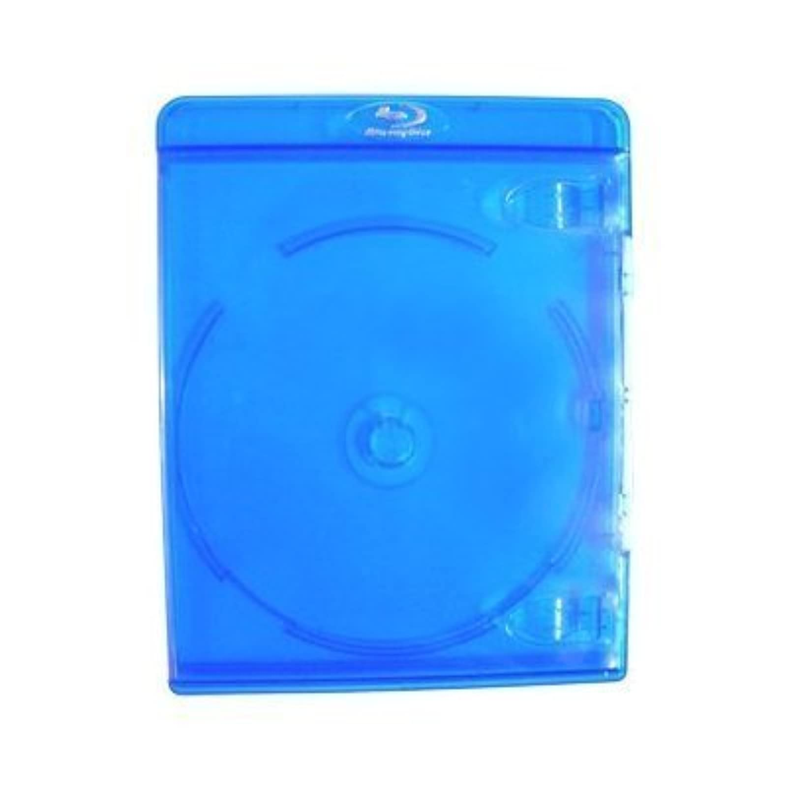 10 Empty Deluxe Blu-Ray Replacement Cases For Blue-Ray Disc Movies