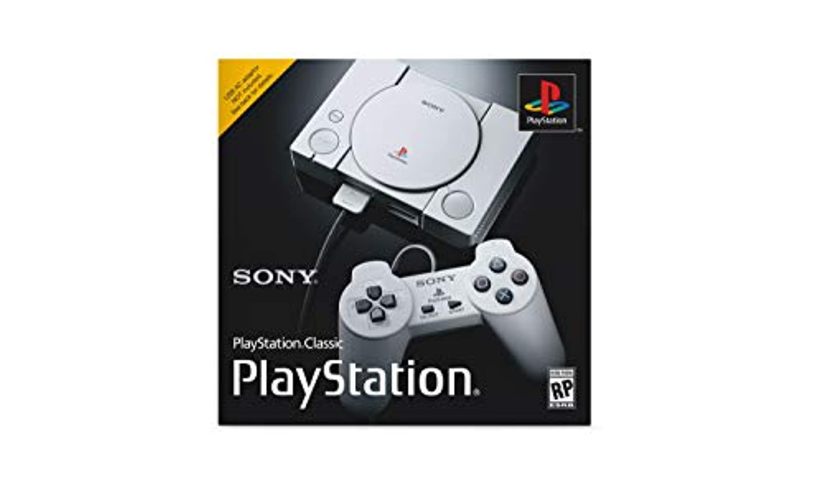 PlayStation Classic Console Gray Home HZA531 Grey
