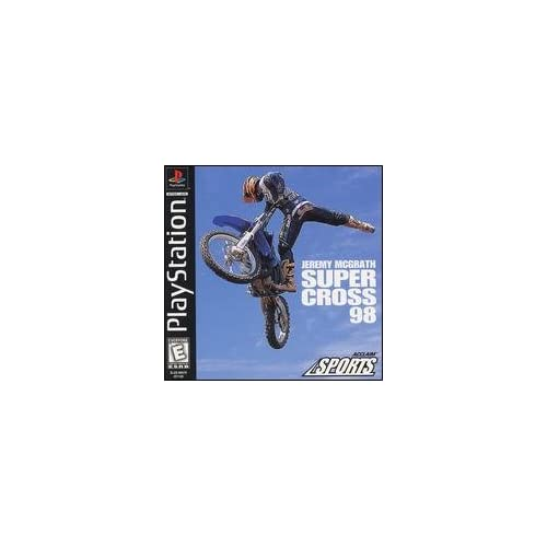 Jeremy Mcgrath Supercross 98 For PlayStation 1 PS1 Racing