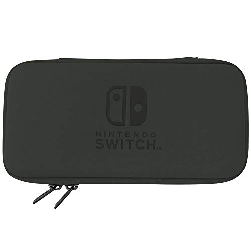 Lite Slim Tough Pouch Black By Hori For Nintendo Switch JFX452