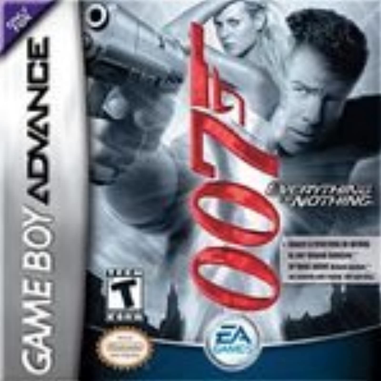 007 Everything Or Nothing And World Poker Tour Game Boy Advance 2 Game Gift Set