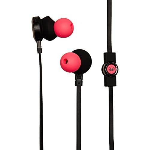 Monster Clarity HD High Definition In-Ear Headphones Pink