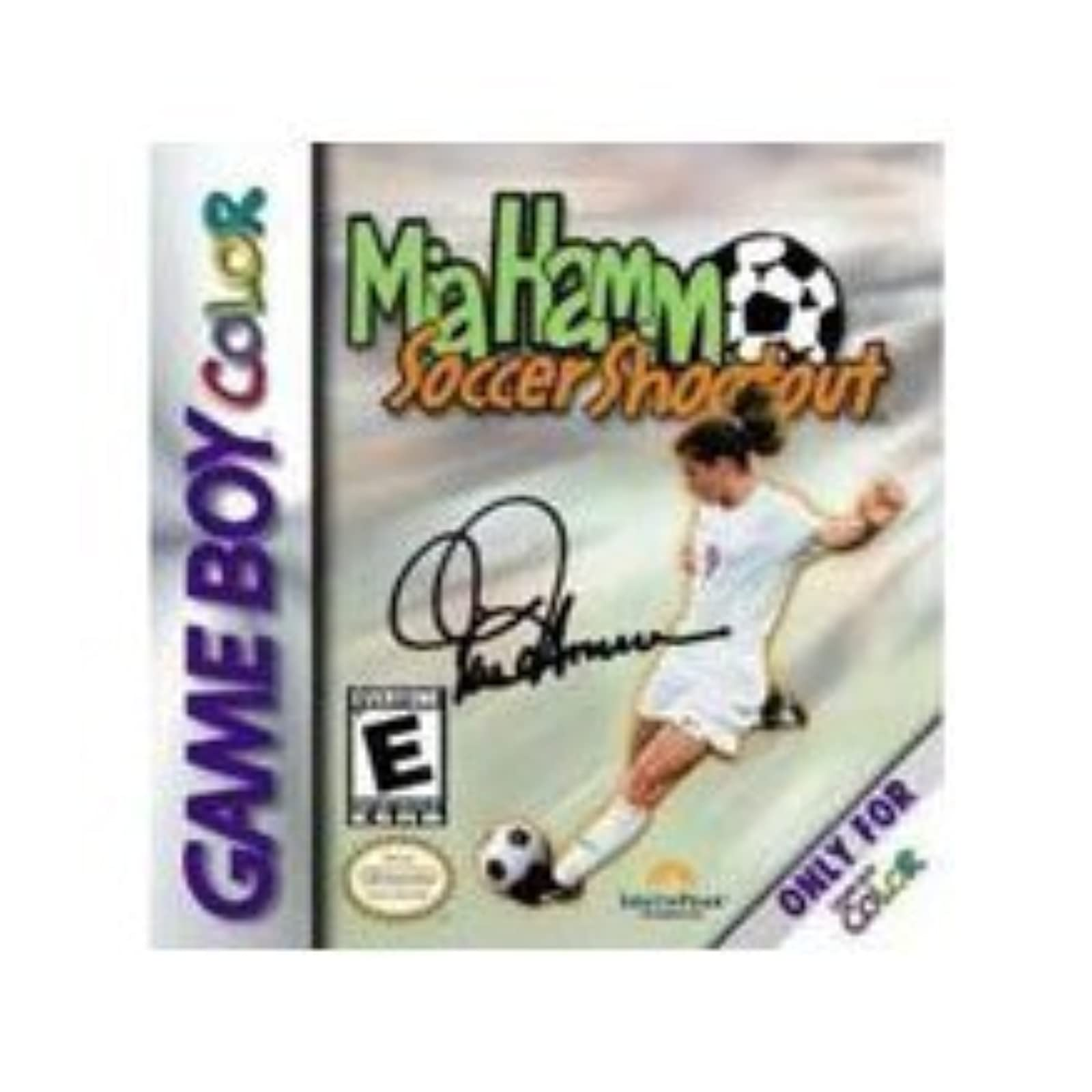 Mia Hamm Soccer Shootout On Gameboy