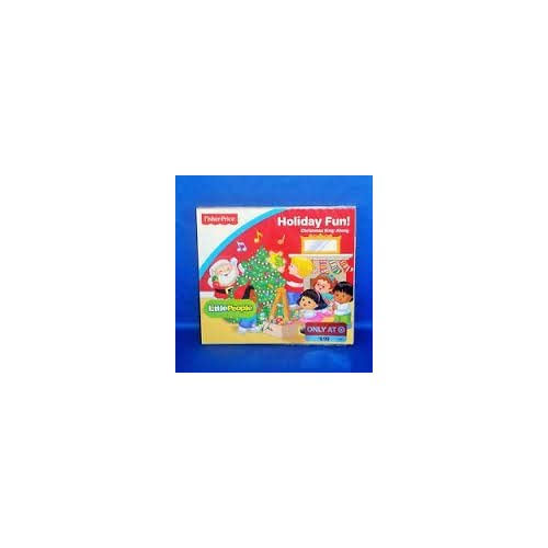 Image 0 of Fisher Price Little People Holiday Fun Christmas Sing Along By Little People Com