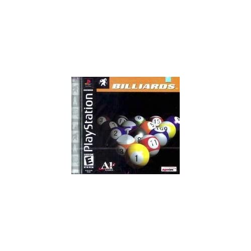 Billiards For PlayStation 1 PS1