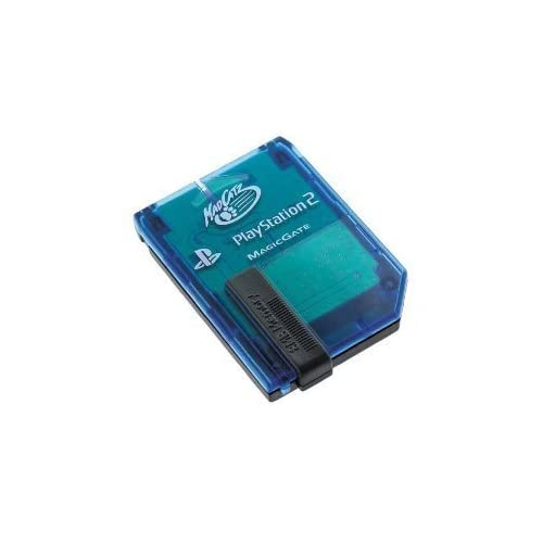 8 Meg Memory Licensed By Mad Catz For PlayStation 2 PS2 Card Expansion Blue LQZ3
