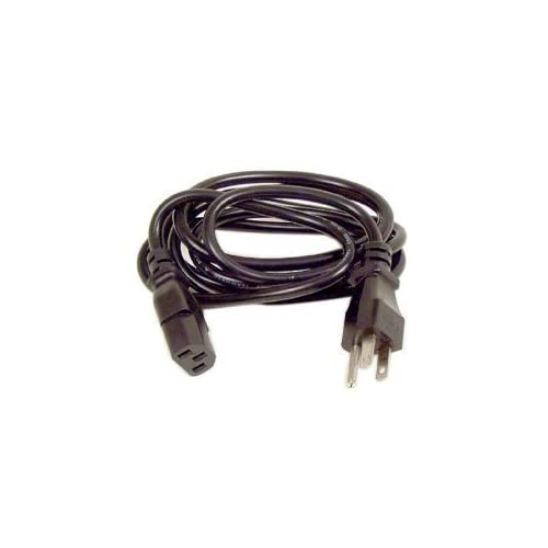 3 Prong AC Power Cord Cable Plug Desktops PC