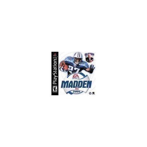 Image 0 of Madden NFL 2001 For PlayStation 1 PS1 Football