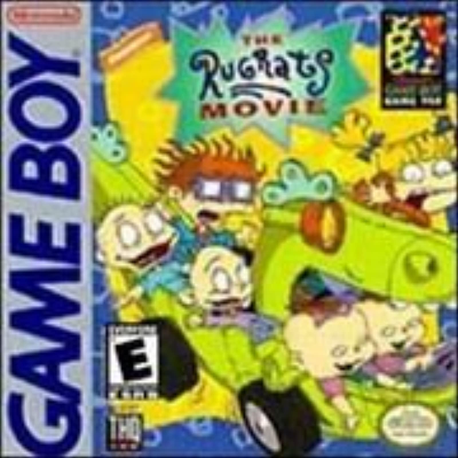 The Rugrats Movie On Gameboy