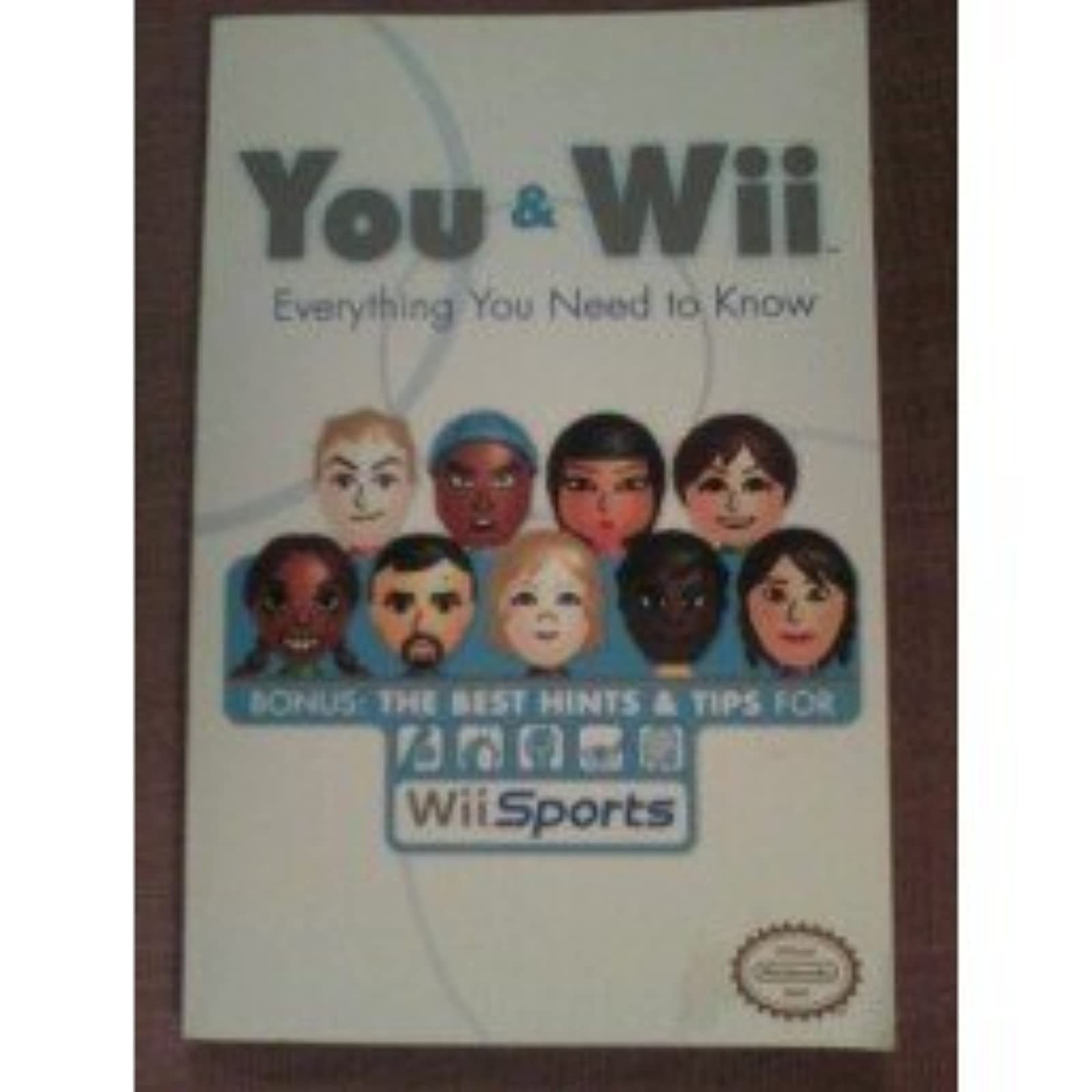 You And Wii Strategy Guide For Wii Sports
